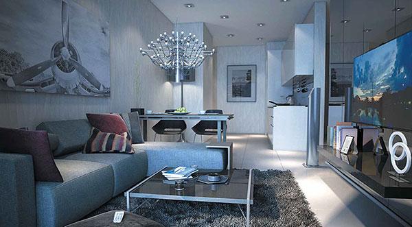The Centren Living Room