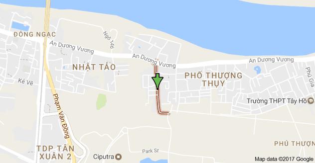 Vị Trí Tây Hồ RiverView Phú Thượng