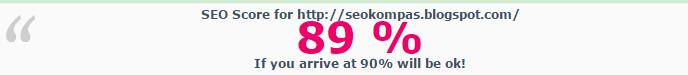 score seo 85% chkme
