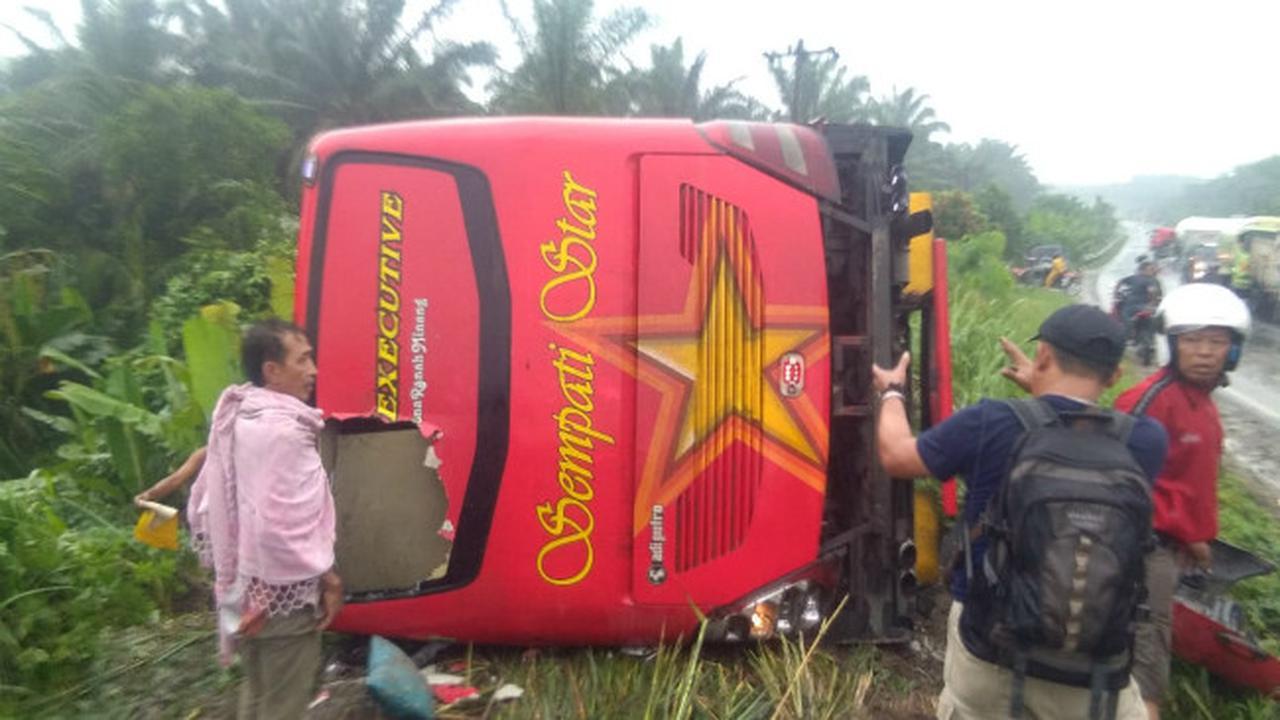 Kecelakaan di Jalur Lintas Sumatera 3 Penumpang Tewas