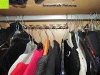horizontale Nutzung: IPOW- 8 Set platzsparende Kleiderbügelhalter Schrankbügel Kleiderbügel kleiderstange Mehrfachkleiderbügelhalter