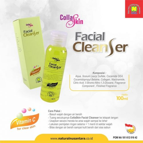 Harga Collagen facial Cleanser Nasa Yang Asli