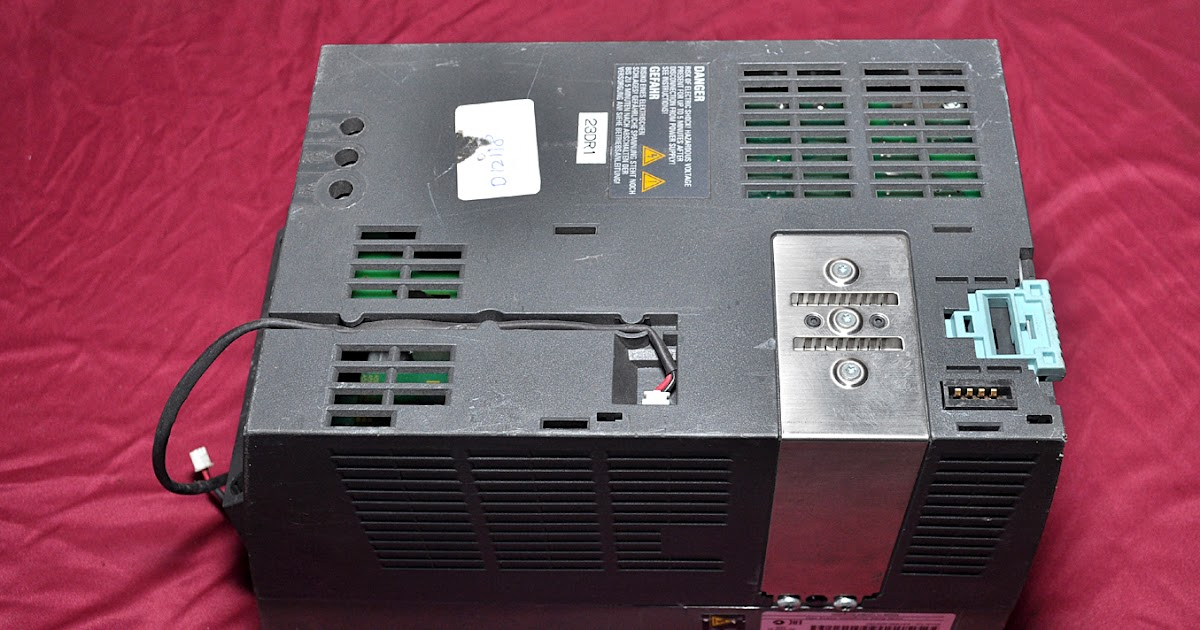 SIEMENS SINAMICS 340 6SL3210-1SE16-0UA0 POWER MODULE