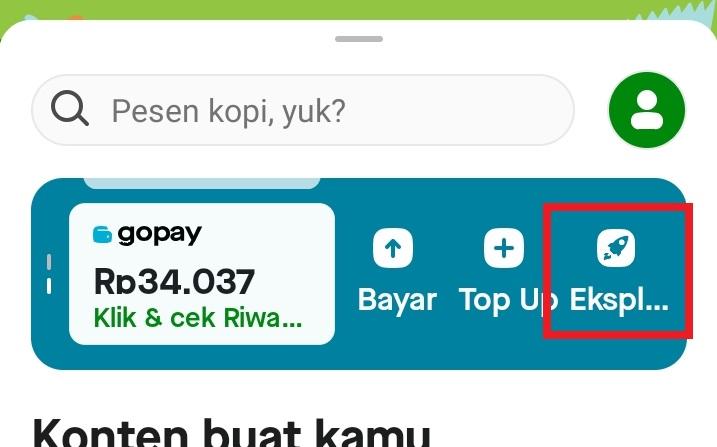 Cara cek Bukti Transfer GoPay