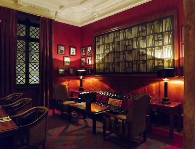 lobby do Grande Hotel do Porto