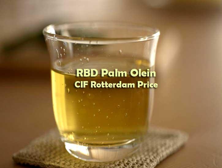 rbd palm olein cif rotterdam price