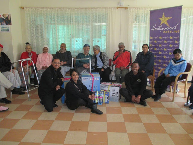Kensington Home for the Aged - Hollywoodbets Donation
