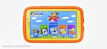 samsung, tablet android, tablet khusus anak, galaxy tab 3 kids, gadget, android