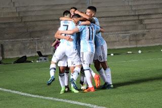 San juan vive el fútbol sudamericano sub-15