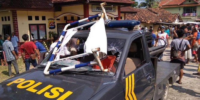 Tiga anggota LSM Aktor di Belakang Kerusuhan di Bayah Ditangkap Polisi