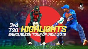 Final Ind vs Ban 3rd T20 highlights 2019 Nagpur