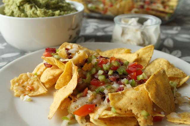 Nachos mexicanos a mi manera