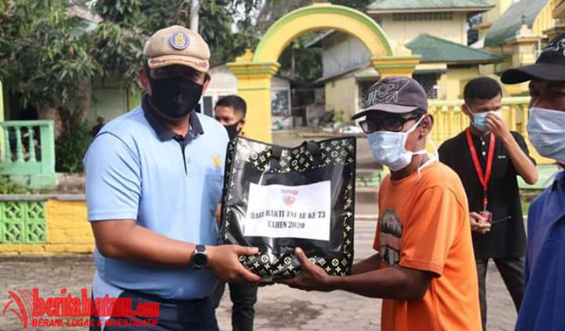 Hari Bakti TNI AU, Lanud Raja Haji Fisabilillah Gelar Bakti Sosial