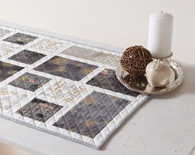 urban pathway quilted table runner kit