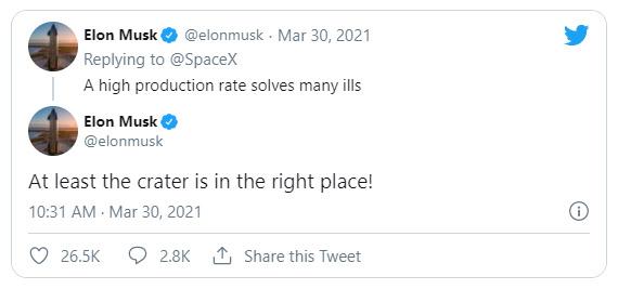 Twitter Elon Musk sn11 explosão