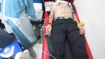 Tim Biddokes Polda Sulsel periksa Kesehatan personil Polres Toraja Utara