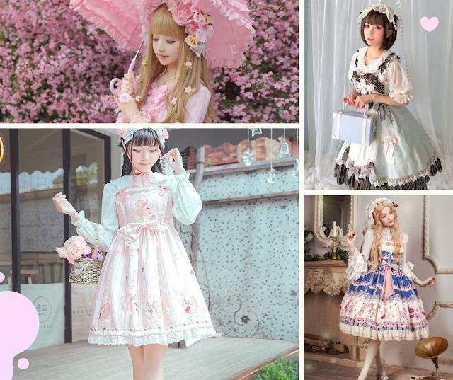 Harajuku Styles MODA Lolita Sweet