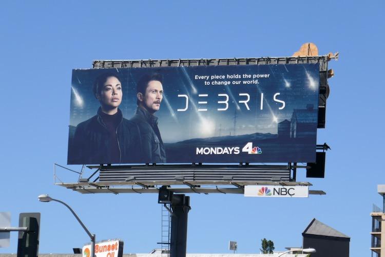 Debris season 1 billboard