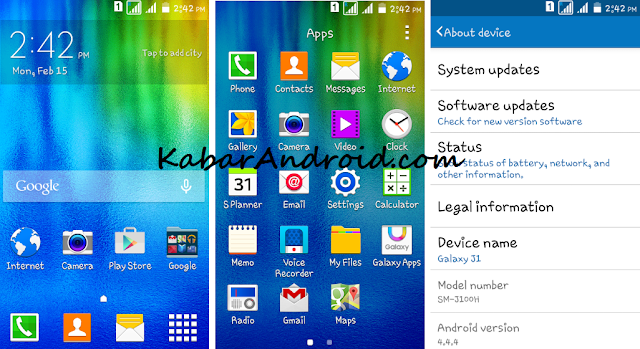 Tutorial Porting Rom Samsung Galaxy J1 For Advan S4+ MT6572