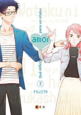 """Manga: Review de """"Qué difícil es el amor para un otaku"""" de Fujita - ECC Ediciones"""
