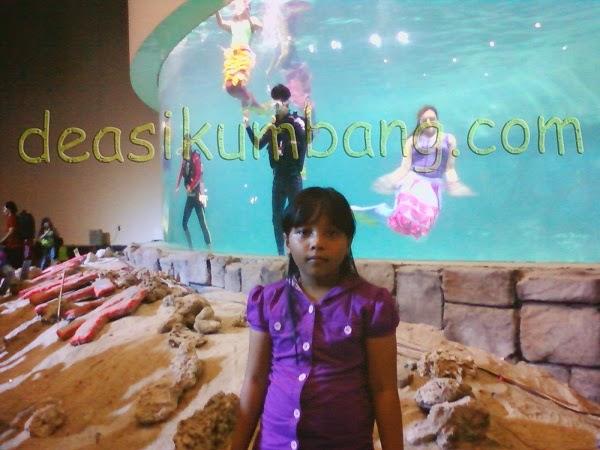 Pertunjukan Putri Duyung Gelanggang Samudra Ancol