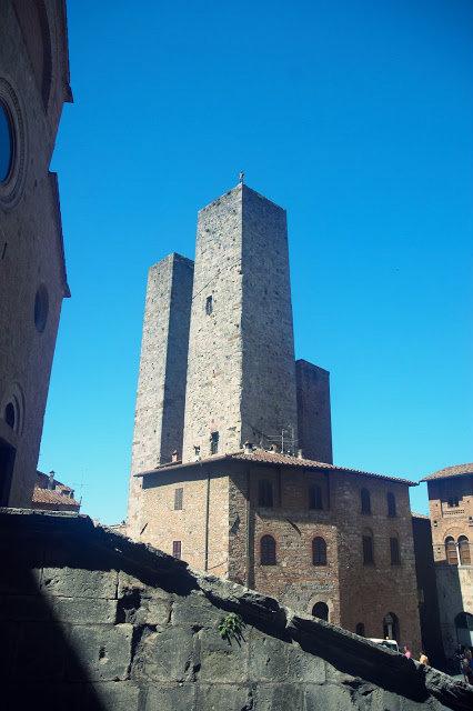 ścisłe centrum San Gimignano, jak wygląda, zdjęcia