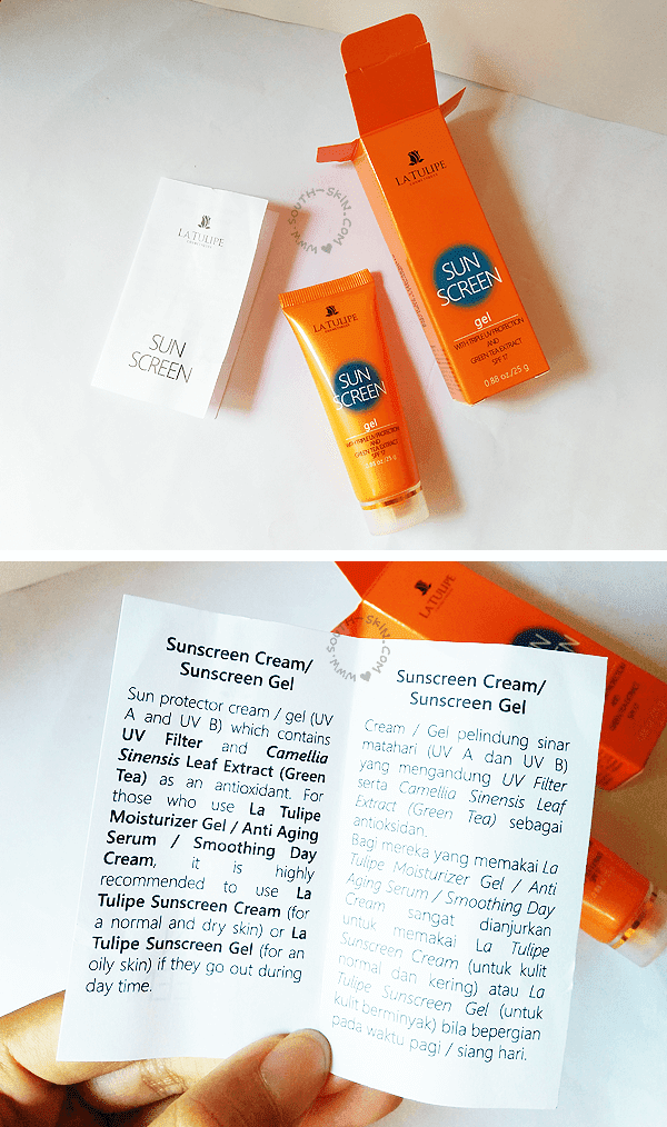 review-la-tulipe-sunscreen-gel-spf-17