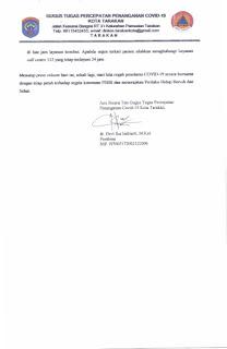 Press Release COVID-19 Tarakan 29 April 2020 - Tarakan Info