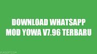 Download Whatsapp Mod YOWA v7.96 Terbaru Anti Banned