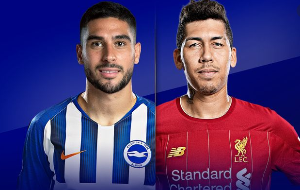 Menyaksikan Tayangan Live Streaming Brighton vs Liverpool