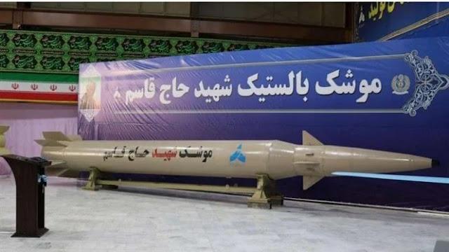 Iran Luncurkan Rudal Baru 'Jenderal Soleimani' untuk Balas Amerika
