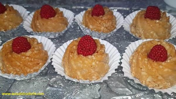 مطبخ ام وليد | حلويات العيد لام وليد حلوى التاج المعسلة