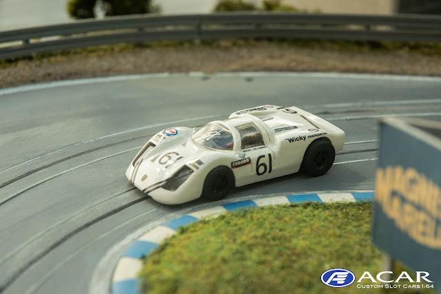 Porsche 910 24h Le Mans 1970 Christian Poirot #46