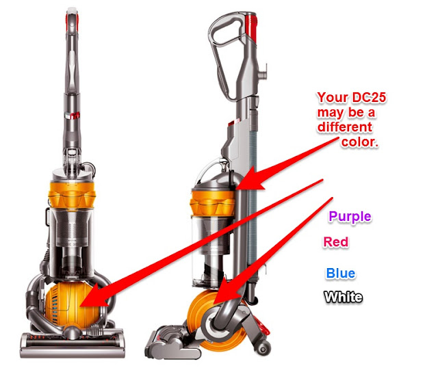 how to clean a dyson filter dc25