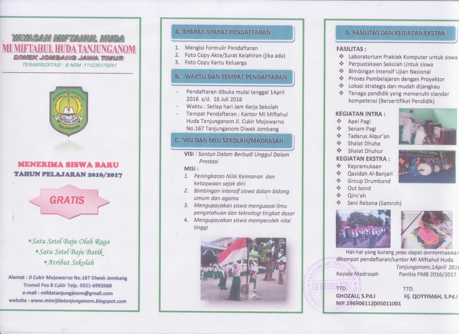 Mi Miftahul Huda Tanjunganom Diwek Jombang