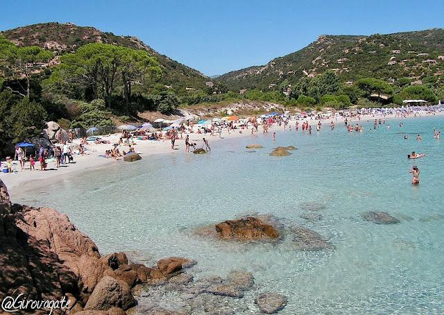 spiaggia Palombaggia Corsica