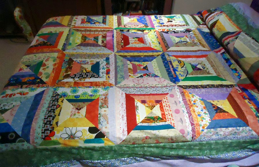 Latest Scrap Happy Quilt