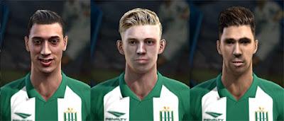 Faces: Lihue Prichoda, Ivan Rossi, Fabian Noguera Pes 2013