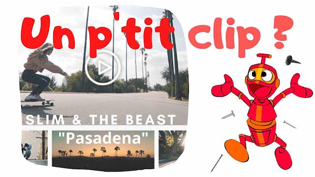 Plaisir immense que de retrouver Slim & The Beast avec le superbe clip Pasadena