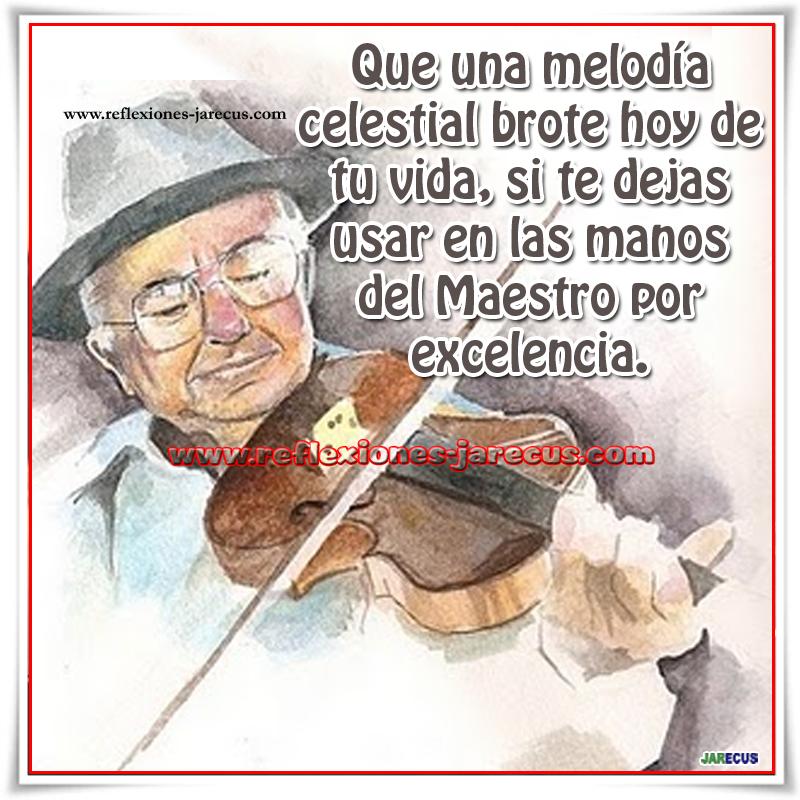 La Mano del Maestro Estaba golpeado y marcado y el rematador en una subasta y pensó que por su escaso valor, no tenía sentido perder demasiado tiempo con el viejo violín, pero lo levantó con una sonrisa.
