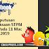 Keputusan Peperiksaan STPM 2018 Pada 11 Mac 2019