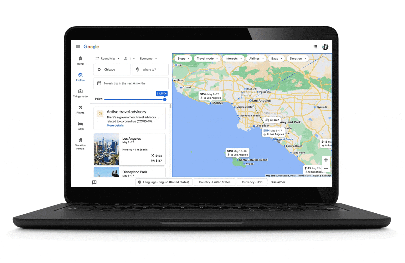 Google Is Adding A Line Of New Travel Related Updates In Order To Help Vacationers Plan The Perfet Trip