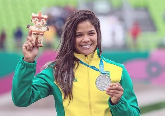 Paôla Reis nos Jogos Pan-Americanos de Lima, 2019