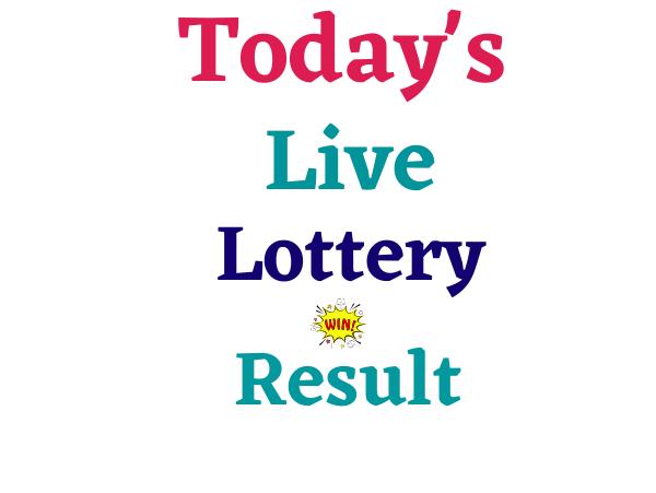 Today Lottery Sambad Result