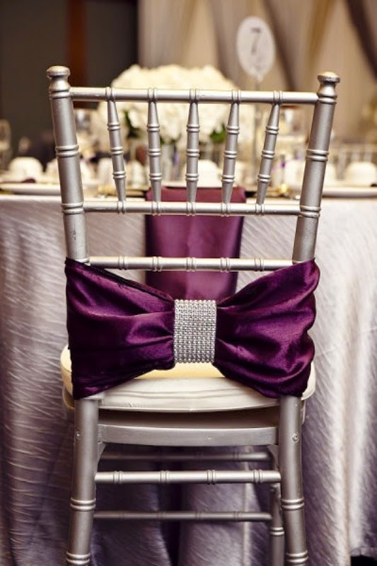 Elegant Purple Wedding Themes Spice up Your Big Day