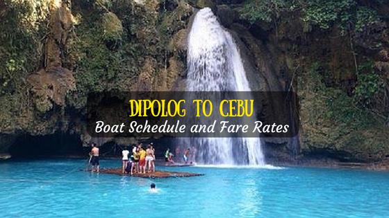 Dipolog to Cebu boat schedule