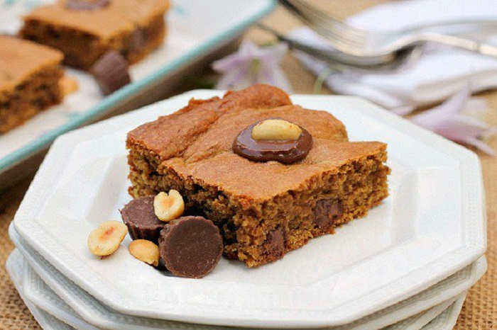 Chocolate and Peanut Butter Brownies