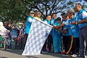 Ratusan Masyarakat Nagan Raya Semarakkan Fun Bike Dan Fun Walk KNPI