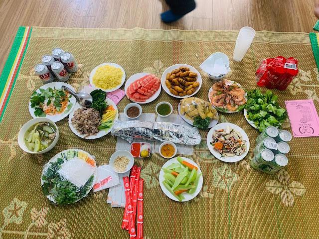 thuê nấu cỗ tại nhà Nhân Chính, Thanh Xuân