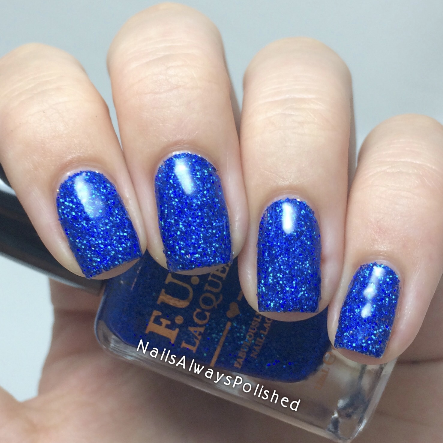Nails Always Polished: F.U.N Lacquer How Deep is Your Holo?